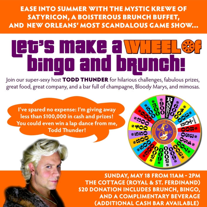 Let's Make a Wheel of Bingo and Brunch!